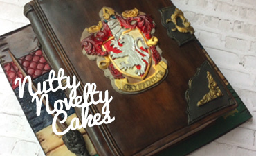 Featured nutty novelty cakes